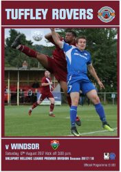 Programme cover v Windsor